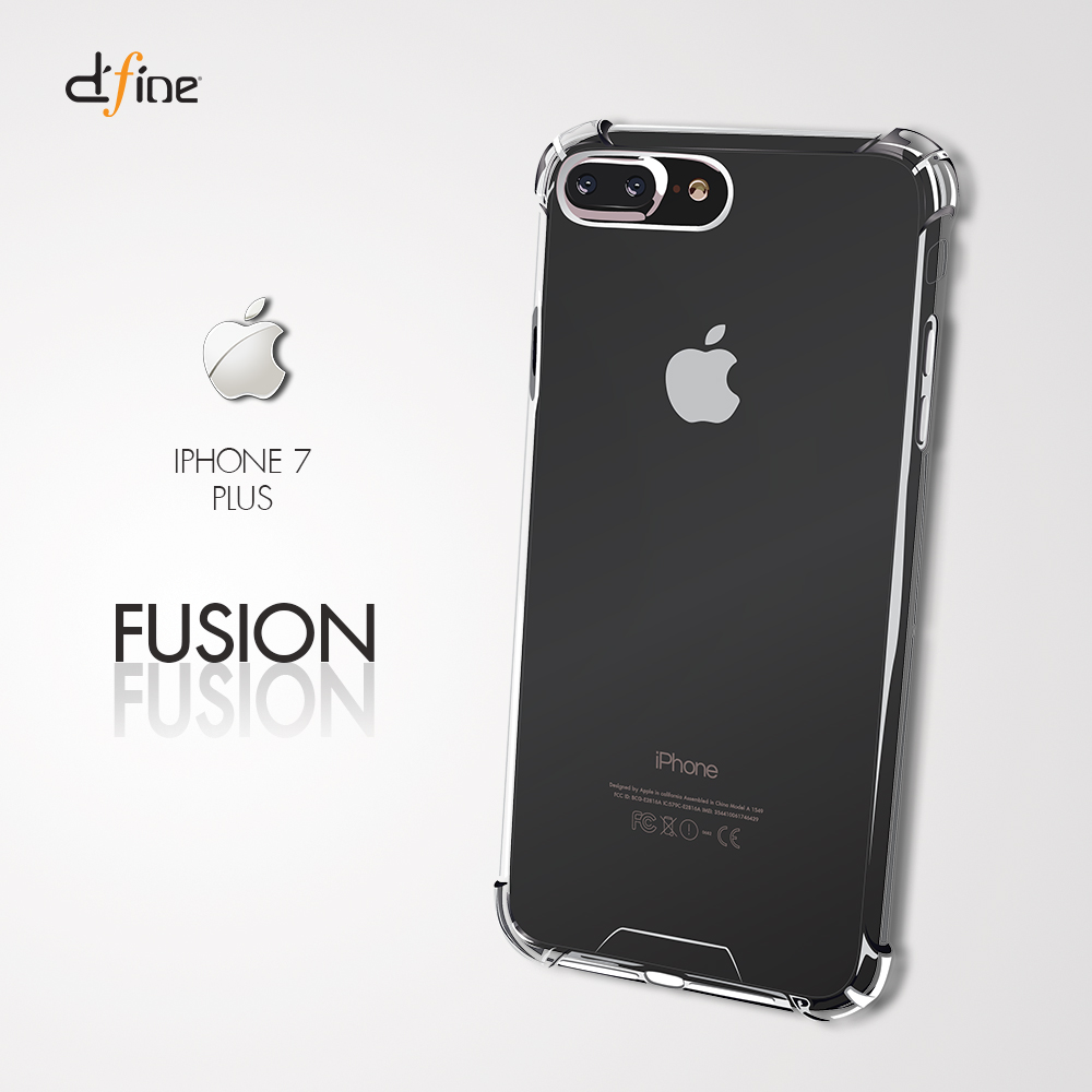 gizmo case iphone 7 8 plus fusion clear d 39 fine shop. Black Bedroom Furniture Sets. Home Design Ideas